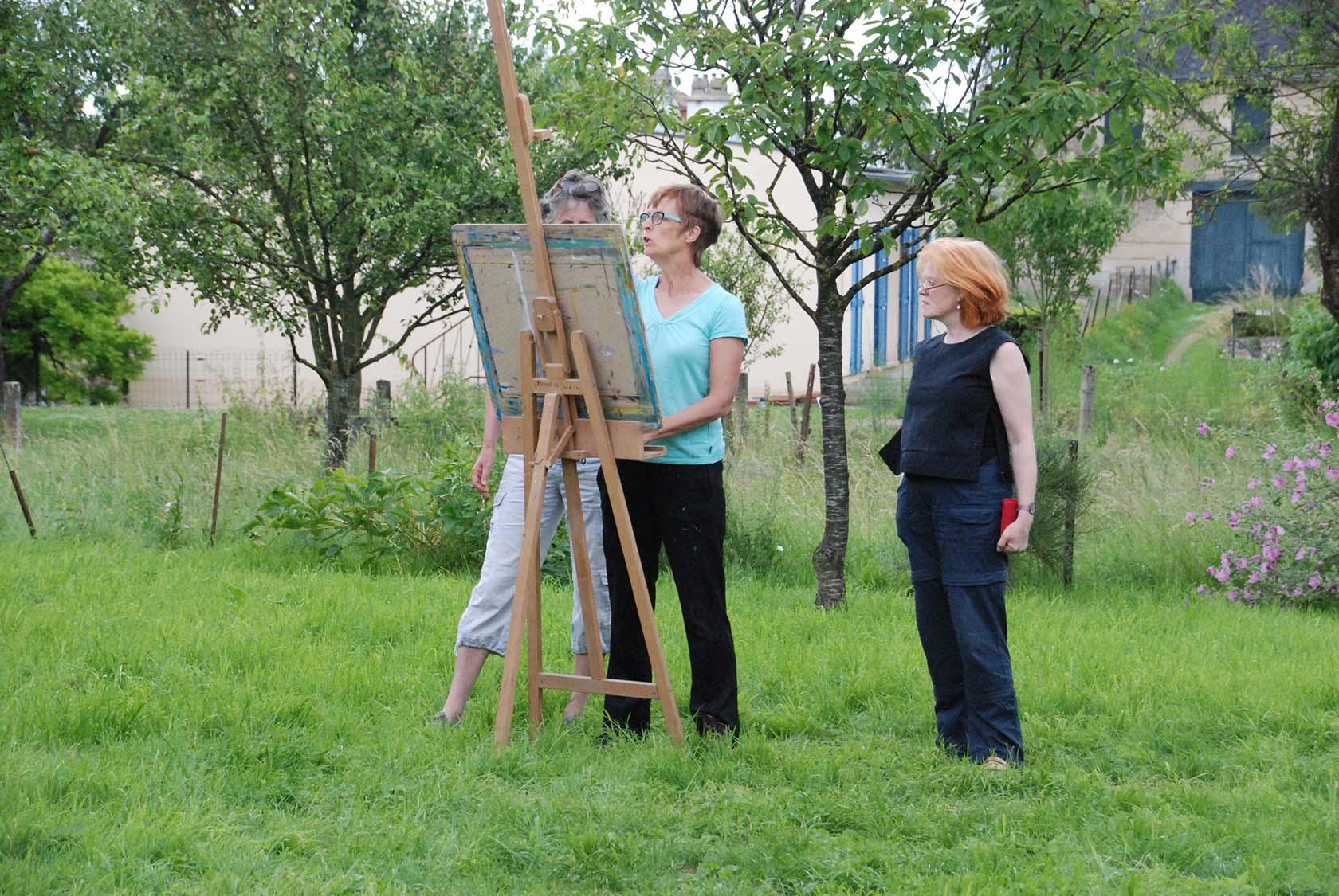 Workshops tekenen en schilderen